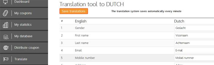 Integrated translation tool